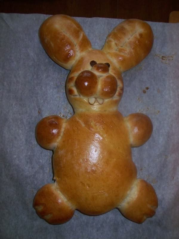 Bunny bread for Easter | our daily BREAD | Pinterest