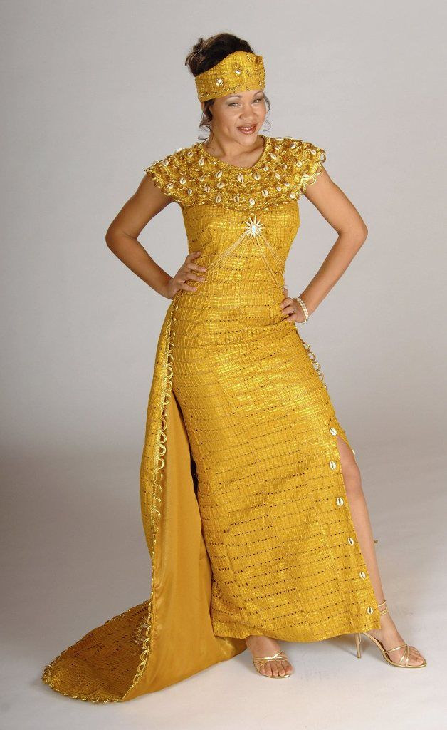 The ultimate in African wedding gowns and ethnic bridal dresses was on ...