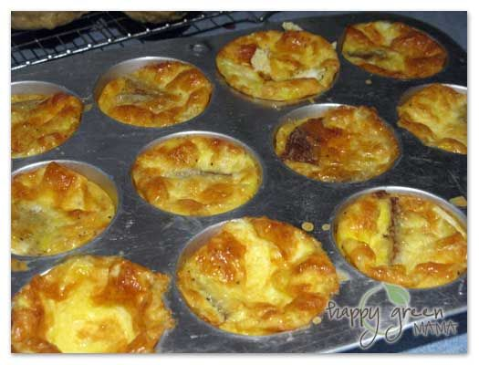 Scrambled Egg Muffins | Back to School Breakfasts | Pinterest