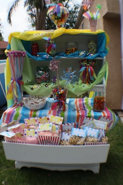 Candy Bar my sisters and I did for my sister's 40th birthday party