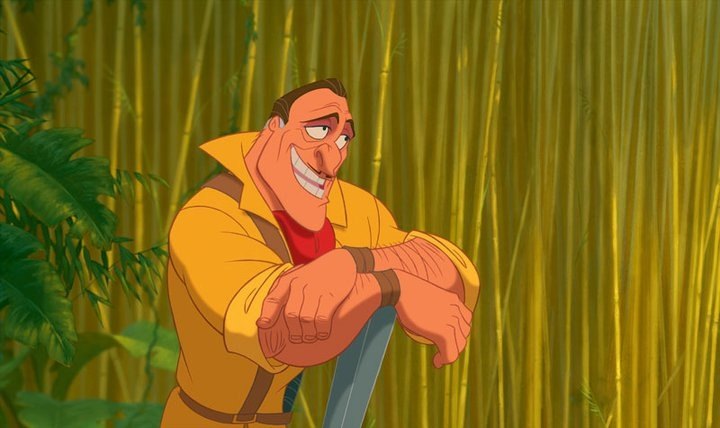 "Clayton from ""Tarzan""   Disney"