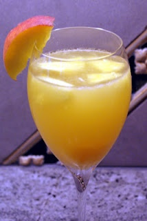 White Sangria - keeps you cool during these hot summer months!