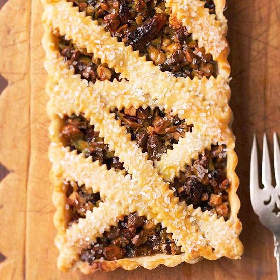 Honey Pistachio Tart ( is a French-inspired finale to a holiday party ...