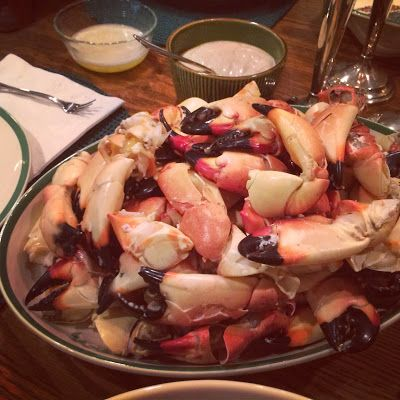 Stone Crabs with Mustard Sauce #littlecookinthebigcity