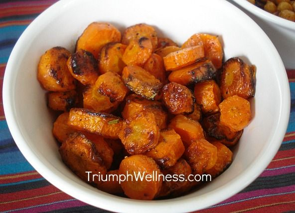 Lemon Roasted Carrots | Health & Fitness | Pinterest