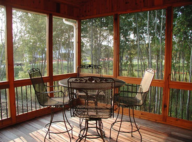 Pin by house plans and more on great outdoor living areas pinterest - Screened porch house plans ...
