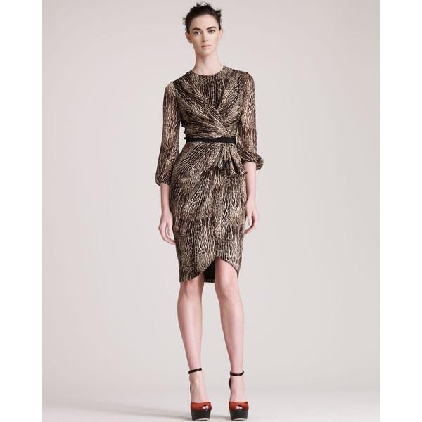 leopard dresses