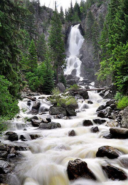 Fish creek falls steamboat springs co waterfalls and for Fish creek falls