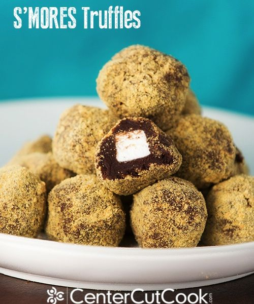 mores Truffles will satisfy your craving for traditional S'mores ...