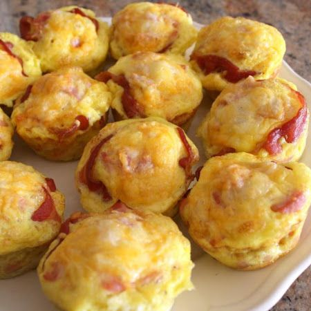 Ham and Cheese Biscuit Cups... | Bread for your plate... | Pinterest