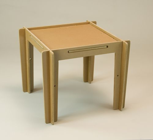 Flat pack table design inspiration pinterest for Table flat design