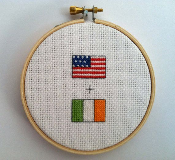 american irish flag