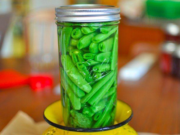 Quick Pickled Sugarsnap Peas | Recipe