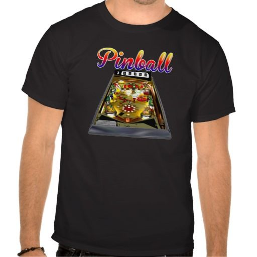 Retro pinball machine design for Best place to buy t shirts online