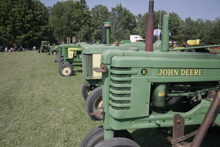 2012 Steam and Gas Tractor Show, Blanchard.