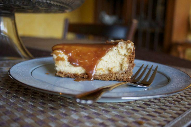 Salted Caramel Cheesecake | Recipe