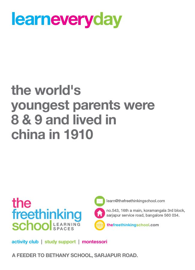 the world s youngest parents were 8  amp  9 and lived in china in 1910Youngest Parents 1910