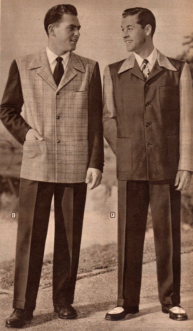 Mens 1940 Fashion Fashion Mens 1940s Sport Coats And