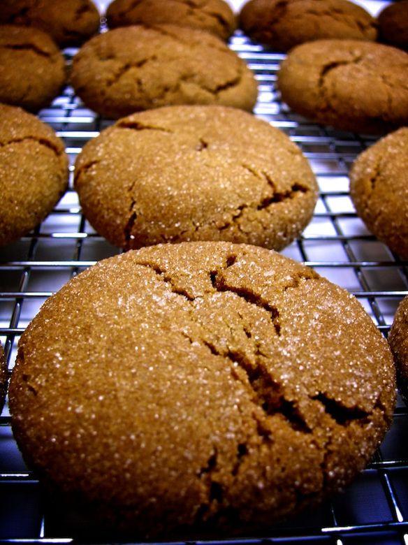 triple ginger cookies | cool things | Pinterest