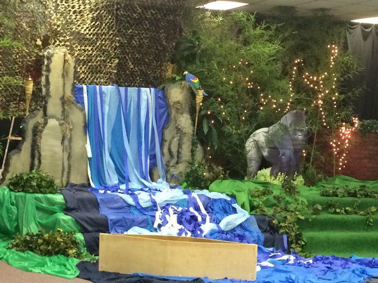 Waterfall Jungle Vbs Shipwrecked Pinterest