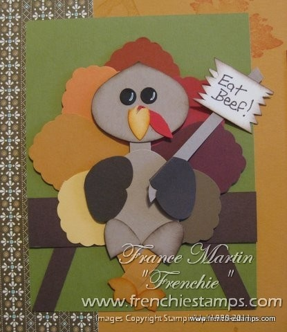 Stampin' Up!  Ornament Punch  France Martin  Turkey