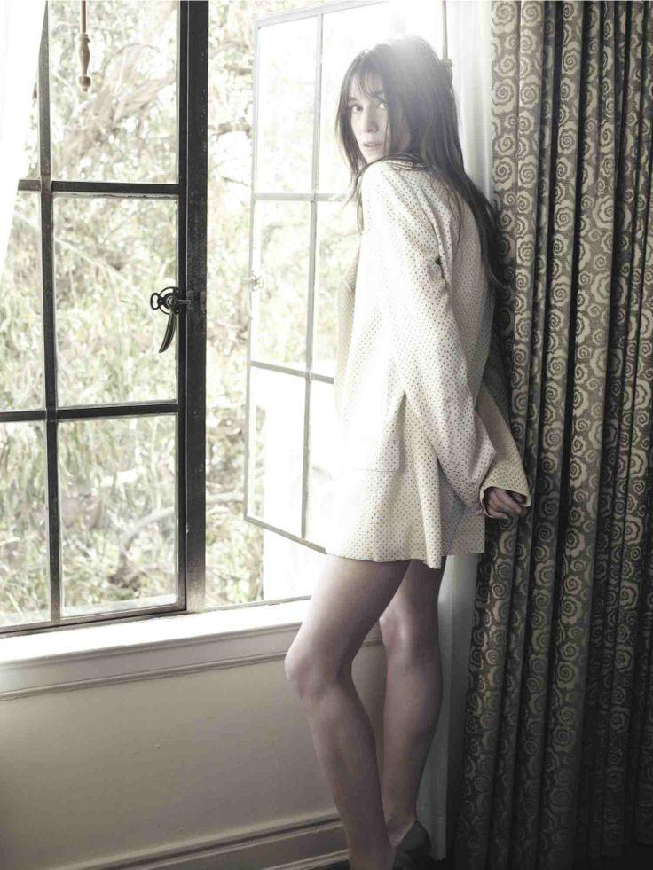 Charlotte Gainsbourg photographed by Kurt Iswarienko.