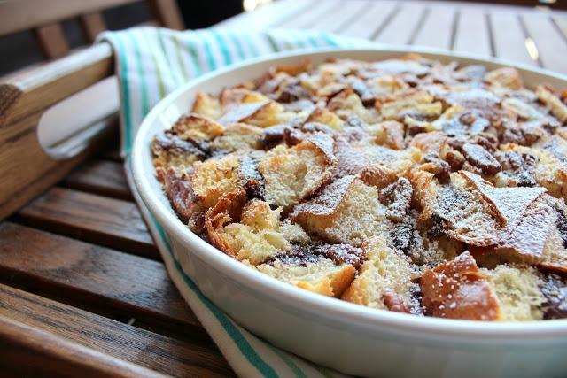 Brioche Nutella Bread Pudding | Deliciousness! | Pinterest