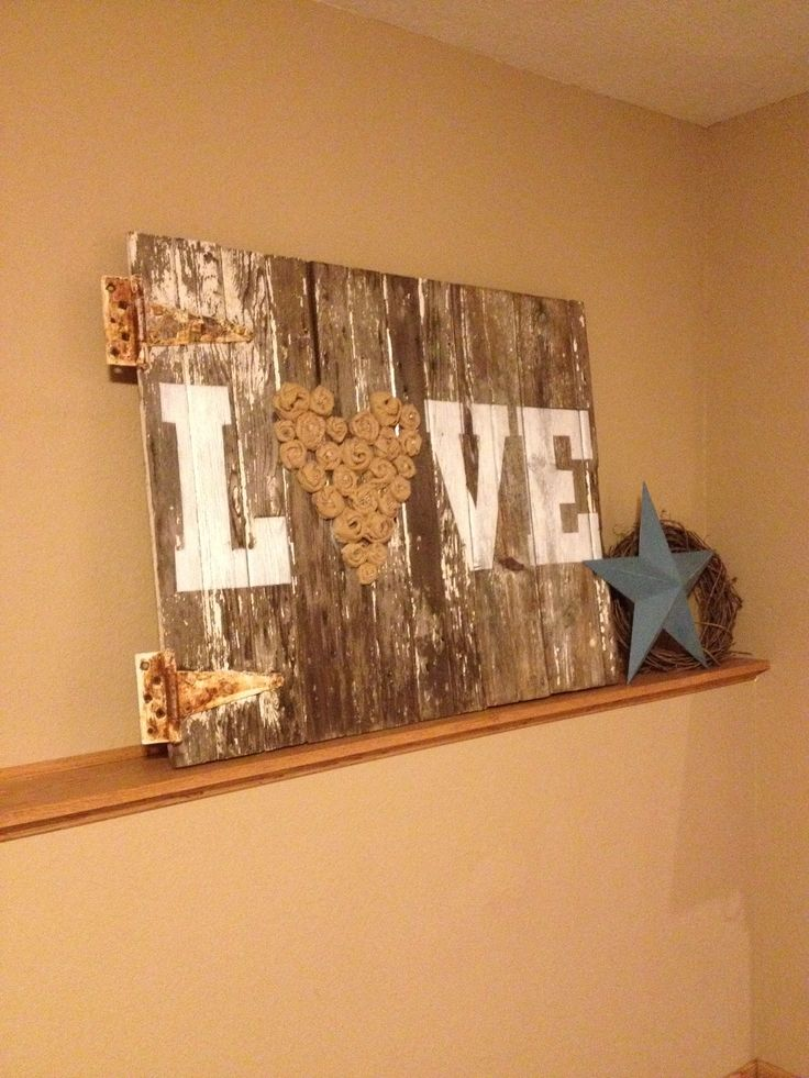 Barn wood decor decorating ideas and improvements for Ideas using old barn wood