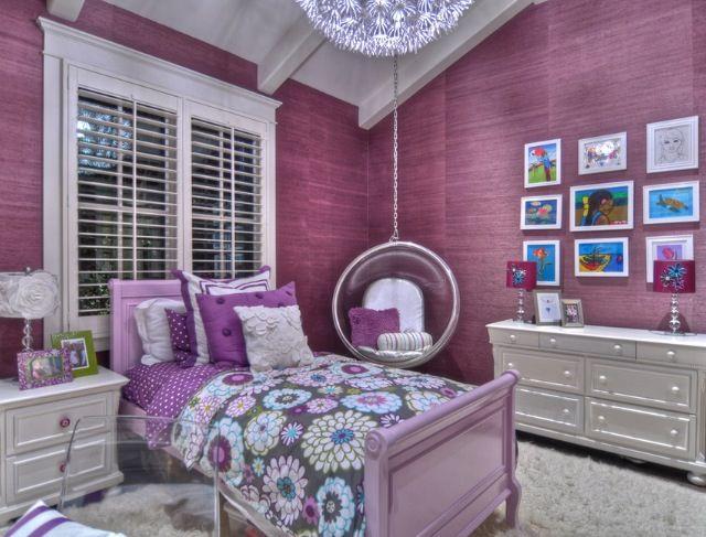 Purple Girls Room D Design Interior Things Pinterest