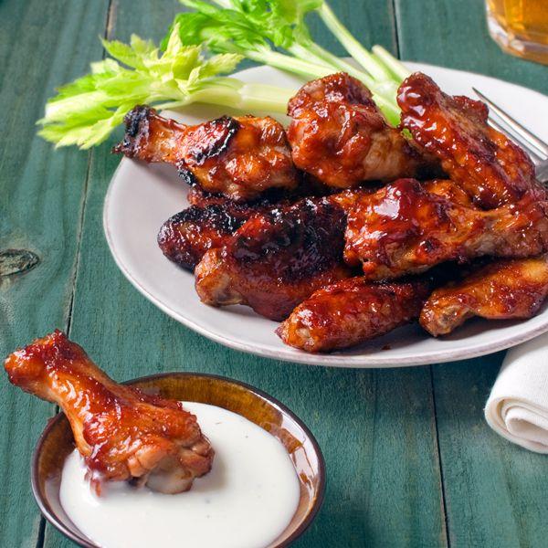 Baked BBQ Chicken Wings | Recipe