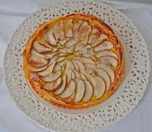 Apple Custard Tart | Sweets | Pinterest