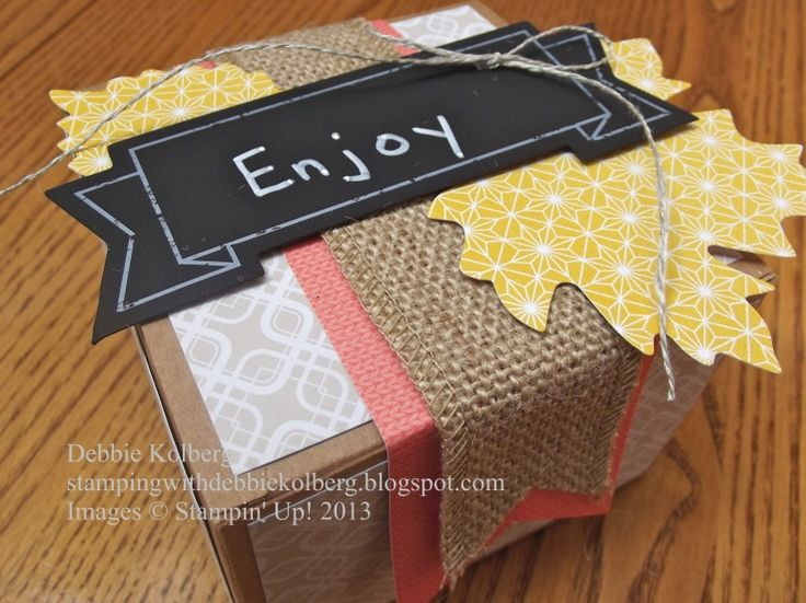Thankful Tablescape Simply Created Kit Altered - Box