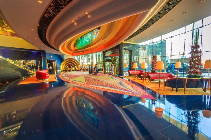Inside Burj Al Arab Destination Dubai Pinterest