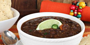 Cuban Black Bean Soup, Don't need to use dry beans and presure cooker ...