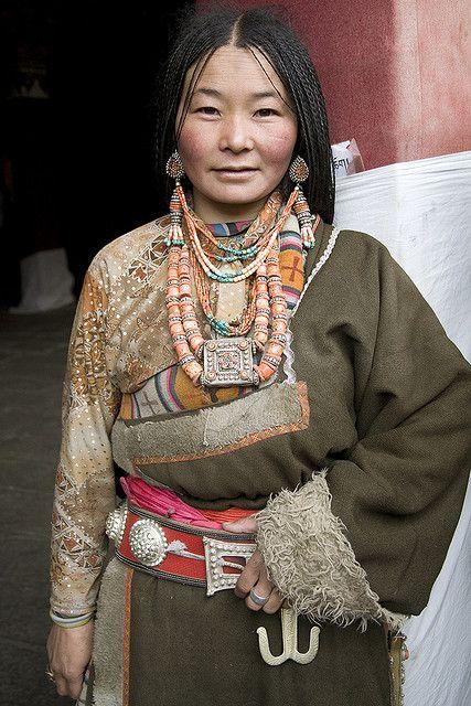 **people of old lhasa.   Tibet