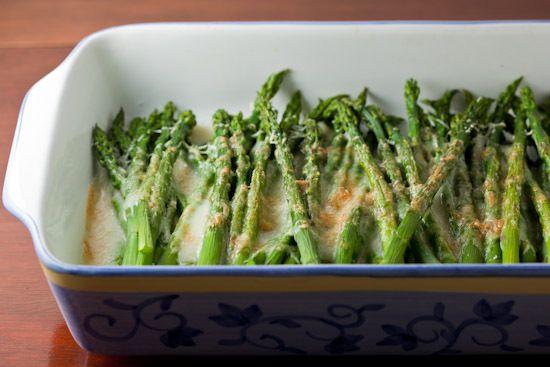 Asparagus Gratin   Recipes   Pinterest