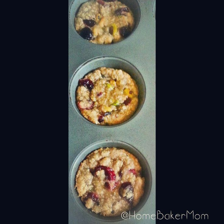 Cranberry-Pistachio Oatmeal Cookies | Handmade, home-made, and home-b ...