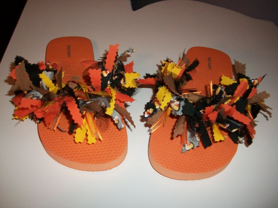 fall flip flops shoes diy pinterest. Black Bedroom Furniture Sets. Home Design Ideas