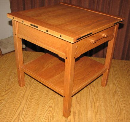 Greene and Greene End Table | Woodworking Ideas | Pinterest