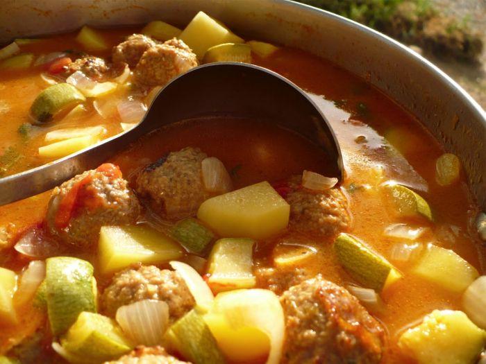 Albondigas Soup Recipe | Get in my belly | Pinterest