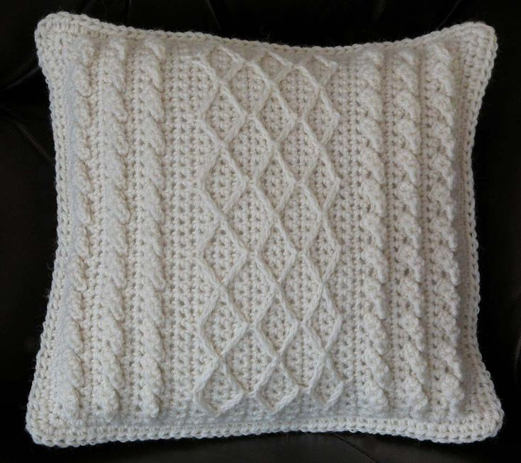 Crochet Pillow Patterns : Granny Square Crochet Pillow Pattern crafts Pinterest
