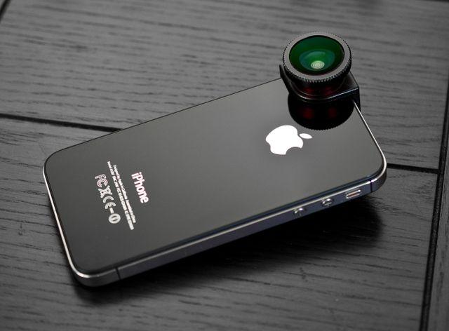 Olloclip iphone fisheye lens ipin pinterest for Fish eye camera