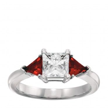 ... Side Stones, Synthetic Diamonds, 1.6 Ct Total, Less than 1,000 XD