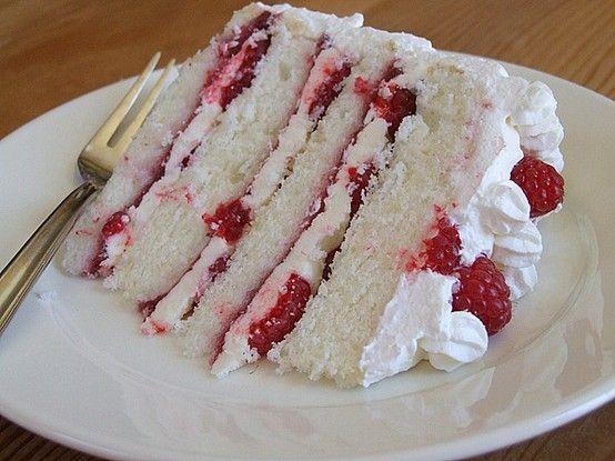 Buttercream Raspberry Cak