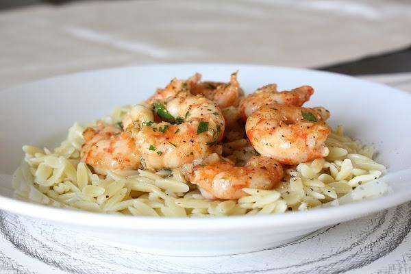 Lemon Pepper Shrimp Scampi | From the sea | Pinterest