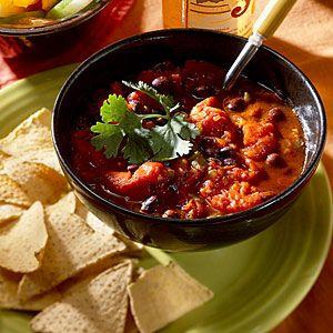 Vegetarian Chili Recipes | Chipotle Black Bean Chili | CookingLight ...
