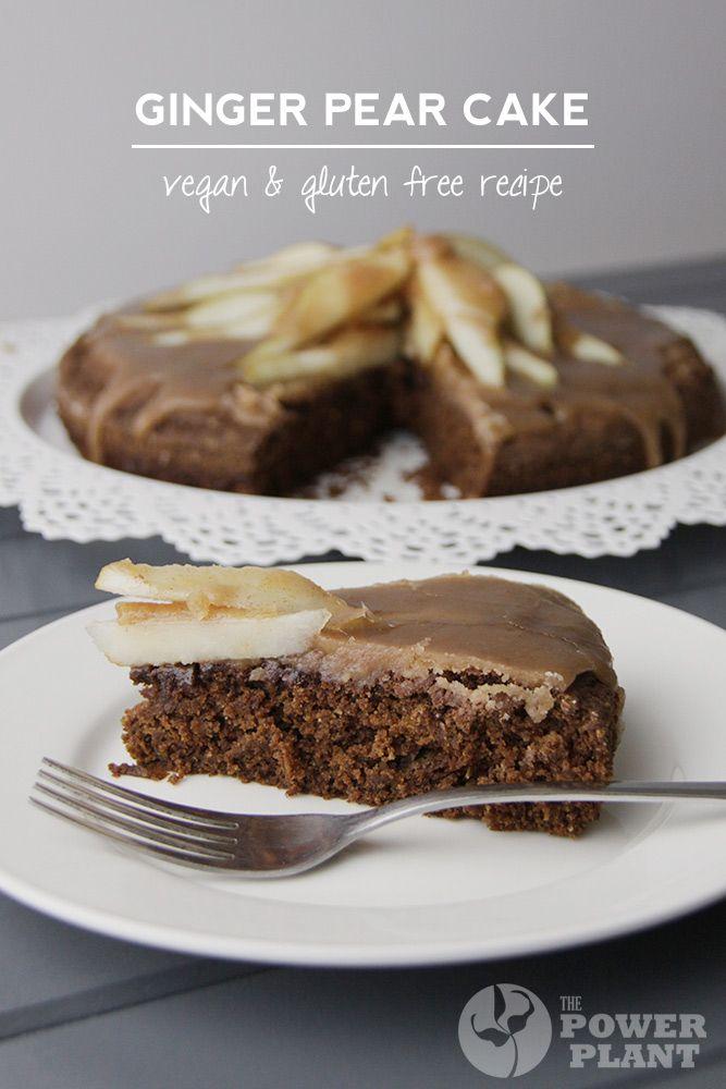 Vegan gluten free ginger cake recipe from The Power Plant # ...