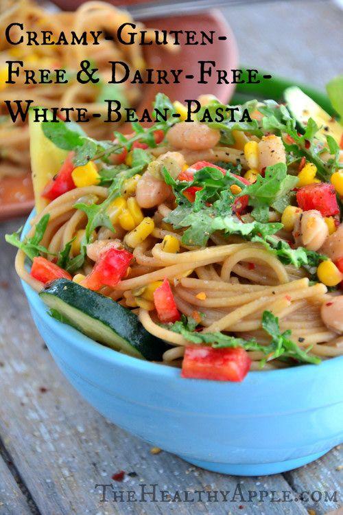 Creamy' Gluten-Free & Dairy-Free White Bean Pasta via ...