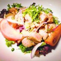 Seared Ahi Tuna Salad With Mizkan Ponzu Recipes — Dishmaps