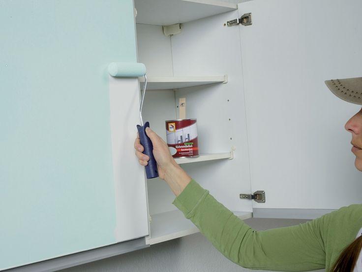 Kuchenschranke Renovieren Idee Tapeten